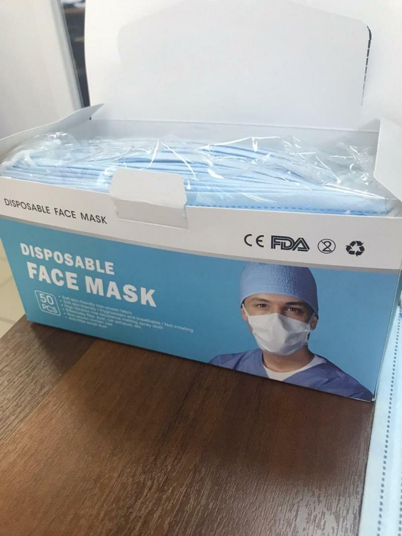 маски медицинские