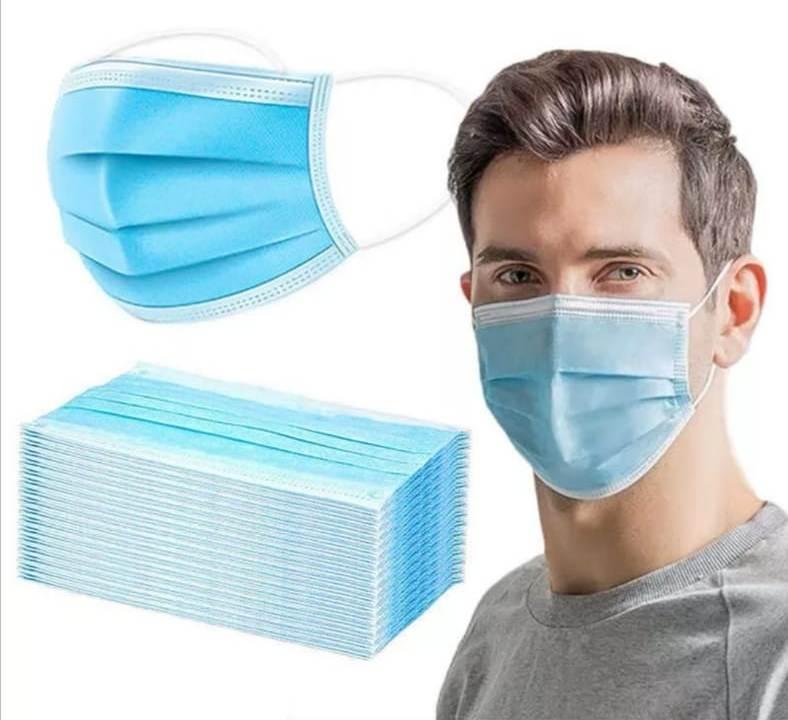 Медицинские маски оптом, 3х слойные